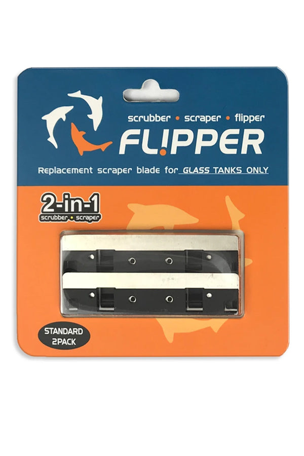 Flipper Standard Replacement Blades Stainless Steel 2 blades per package