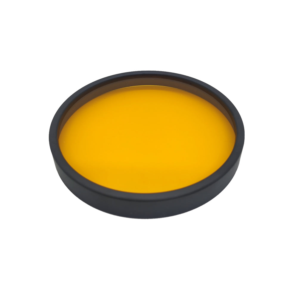 "Flipper DeepSee Magnetically Mounted Magnified Aquarium Viewer Nano 3"" (76mm) Orange Filter Lens"