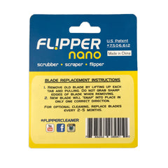 Flipper Nano Aquarium Cleaner Stainless Steel Replacement Blades