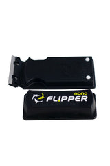 "Flipper Nano 2 in 1 Magnetic Aquarium Algae Cleaner - Up to 1/4"" (6mm) or 25 Gallons"