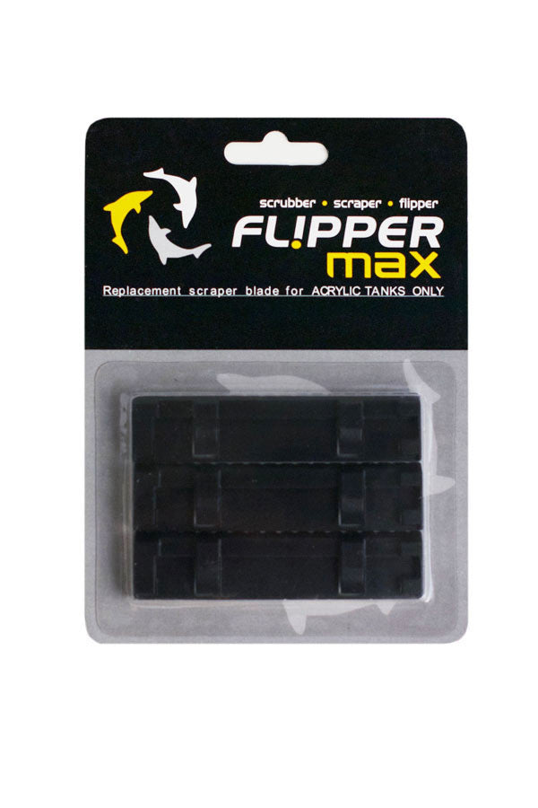 Flipper Max ABS Replacement Blades 3-Pack - Acrylic Tanks