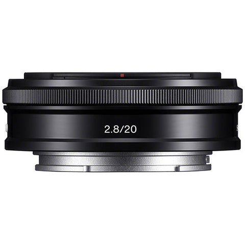 Sony SEL20F28 E 20mm F2.8 E-mount Lens