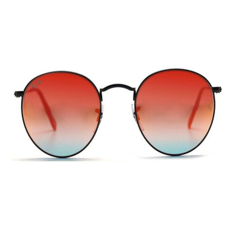 Ray-Ban RB3447 Round Flash (002/4W) (Size 50) Sunglasses