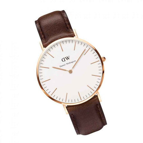 Daniel Wellington Bristol Leather Analog 0109DW Watch (New with Tags)