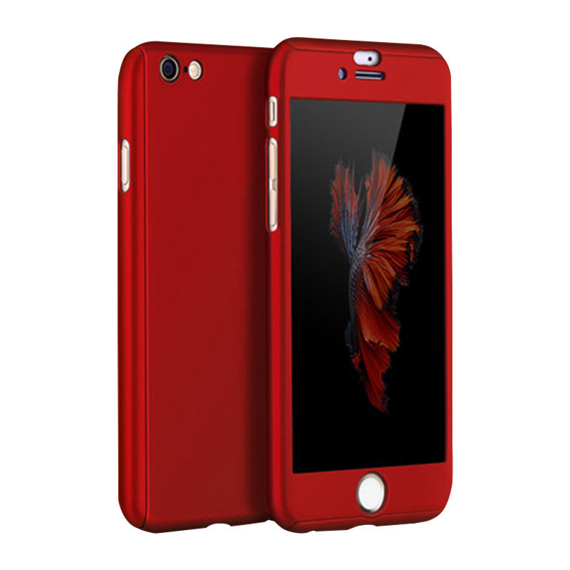 Phone Shell Matte Case 4.7 inch for iPhone 6/6S (Red Wine)