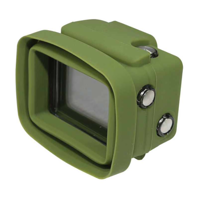 Big Balance MS3 GoPro Shade for GoPro Hero 4 Black / 3+ / 3 GoPro Shade Standard Housing with LCD BacPac (Green)