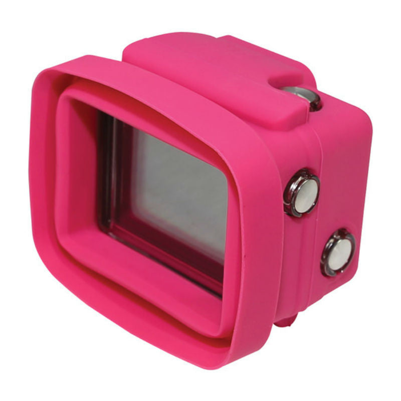 Big Balance MS3 GoPro Shade for GoPro Hero 4 Black / 3+ / 3 GoPro Shade Standard Housing with LCD BacPac (Pink)