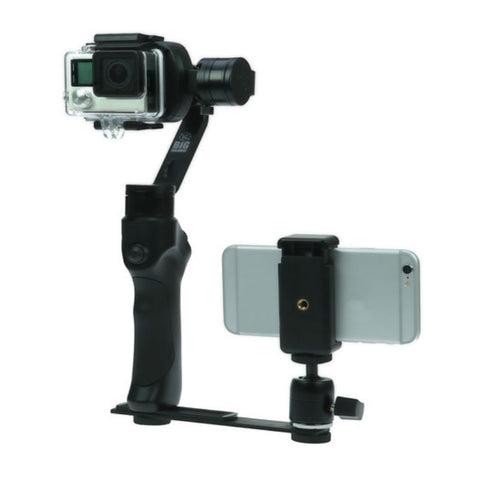 Big Balance Mounting Bar Arm with Swivel Ball Head Adapter and Smartphone Holder