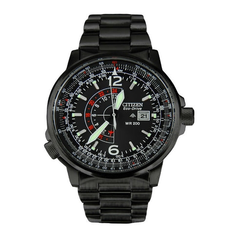 Citizen Eco-Drive Nighthawk BJ7019-62E (BJ7019-54E) Watch (New with Tags)