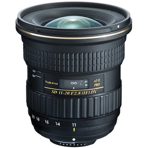 Tokina AT-X 11-20mm f/2.8 PRO DX (Nikon) Lens