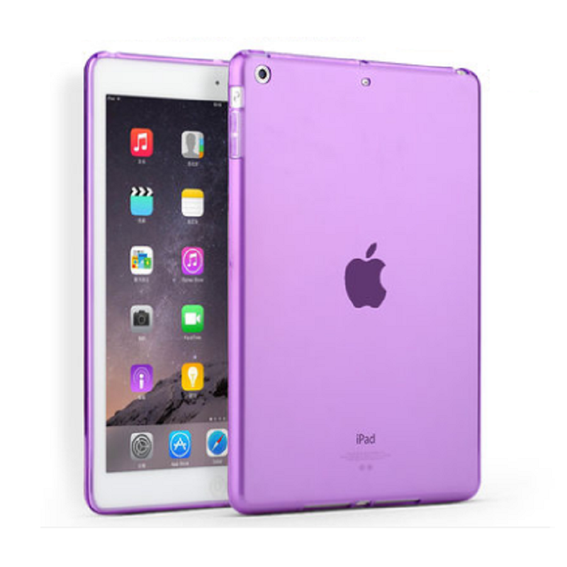 Thin Protective Sleeve Shell for Apple iPad Air (Through Purple)