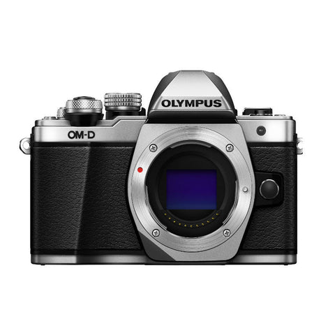 Olympus OM-D E-M10 II Body Silver Digital Camera