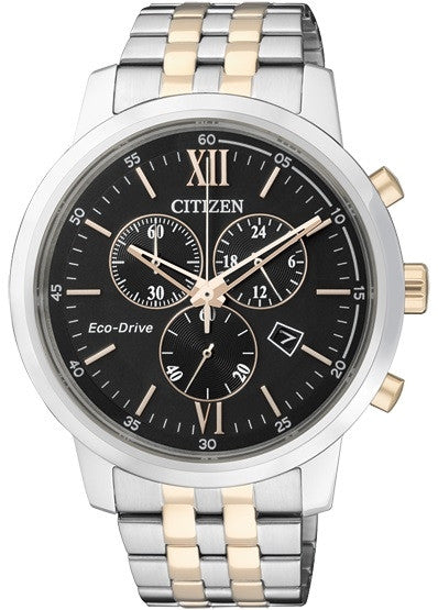 Citizen Eco-Drive Chronograph AT2304-50E Watch (New with Tags)