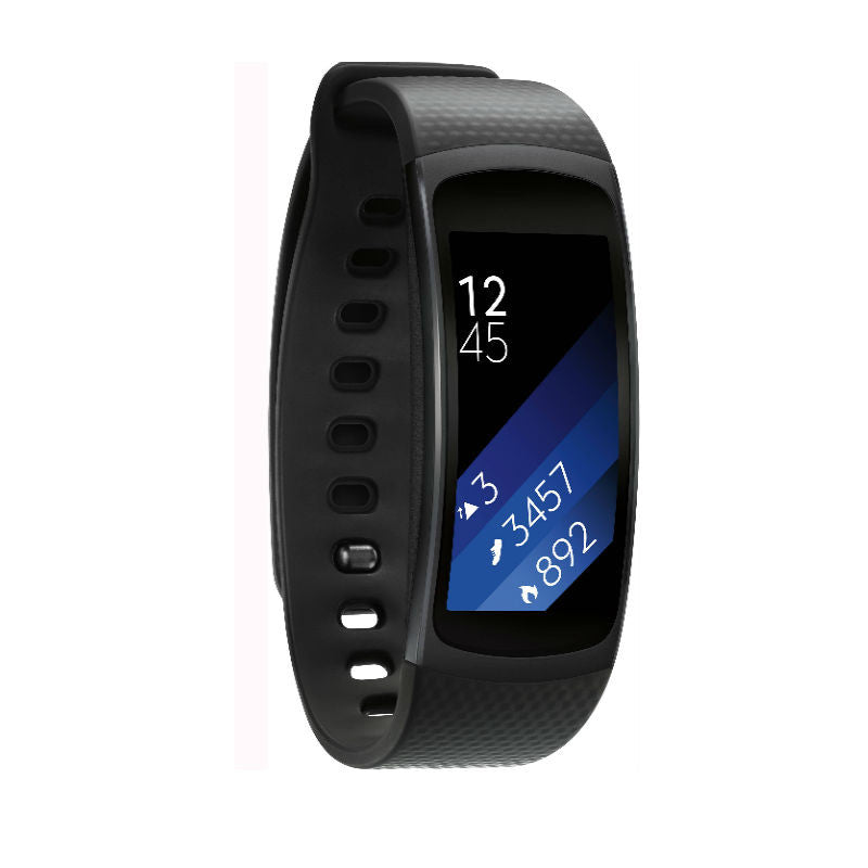 Samsung Gear Fit 2 SM-R360 Large Size Sports Watch (Black)