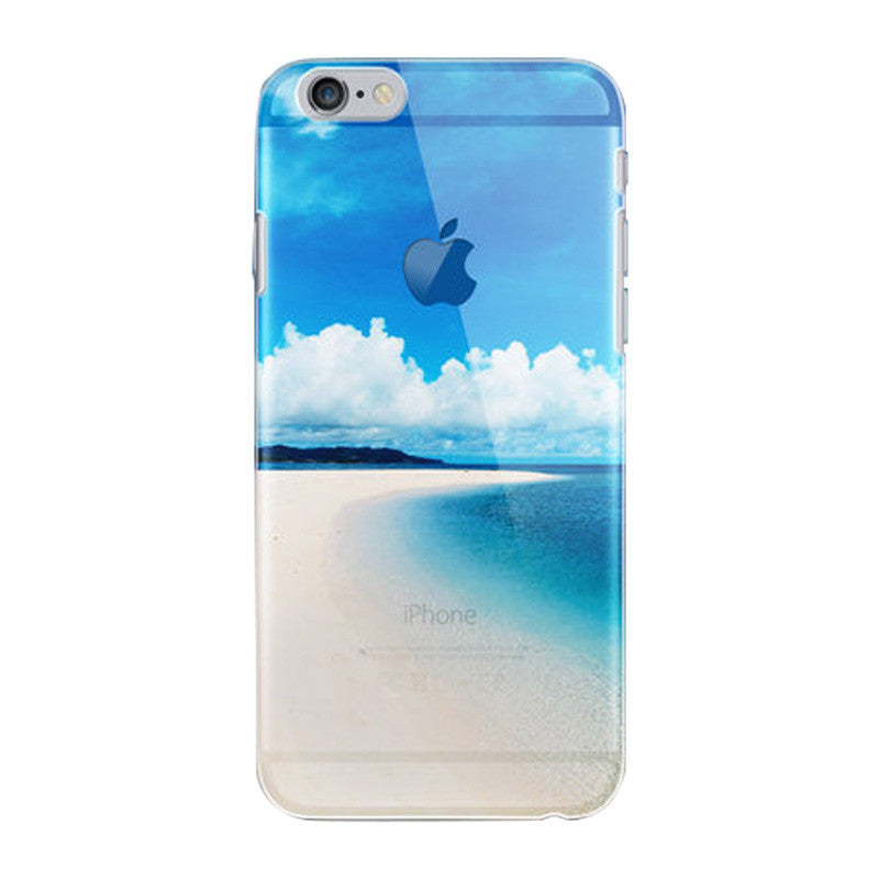 Hard Transparent Case 4.7 inch for iPhone 6/6S (A brighter future)