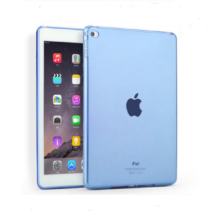 Thin Protective Sleeve Shell for Apple iPad Air2 (Through Blue)