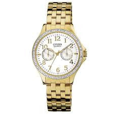 Citizen Quartz with Accent Stones ED8112-52A Watch (New with Tags)