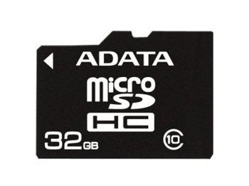 A Data 32GB T-Flash/MicroSDHC (Class 10)