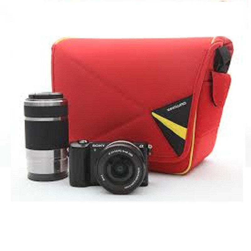 Vanguard Pampas II 22RD Shoulder Bag for Basic DSLR (Red)