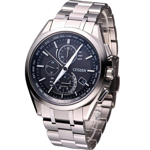 Citizen Eco-Drive Chronograph Radio Control AT8050-53E Watch (New with Tags)