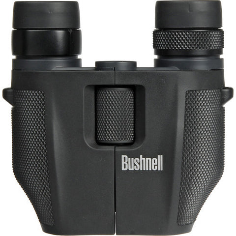 Bushnell PowerView 7-15 x 25mm Porro Prism Zoom Compact Black Binoculars Clamshell Packaging 139755C