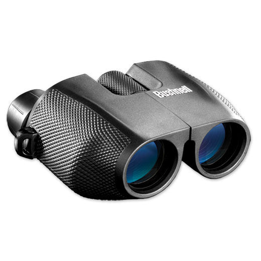 Bushnell PowerView 8 x 25mm Porro Prism Zoom Compact Black Binoculars 139825