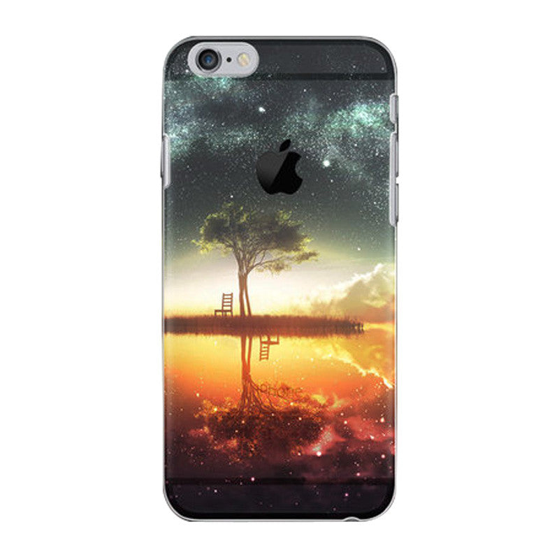 Hard Transparent Case 4.7 inch for iPhone 6/6S (Dream Star)