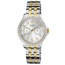 Citizen Quartz with Accent Stones ED8114-57A Watch (New with Tags)
