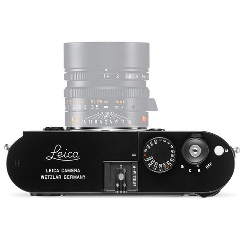 Leica M-P Typ 240 Black Digital Rangefinder Camera