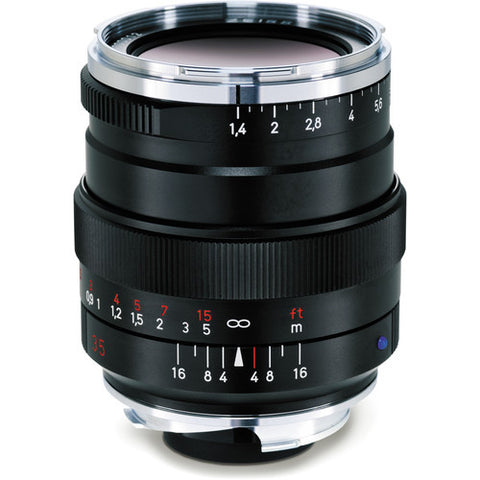 Carl Zeiss Distagon T* ZM 35mm f/1.4 for Leica M Black Lens
