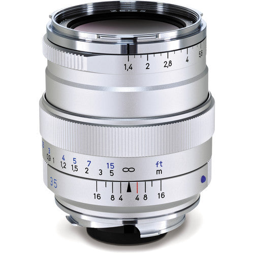 Carl Zeiss Distagon T* ZM 35mm f/1.4 for Leica M Silver Lens