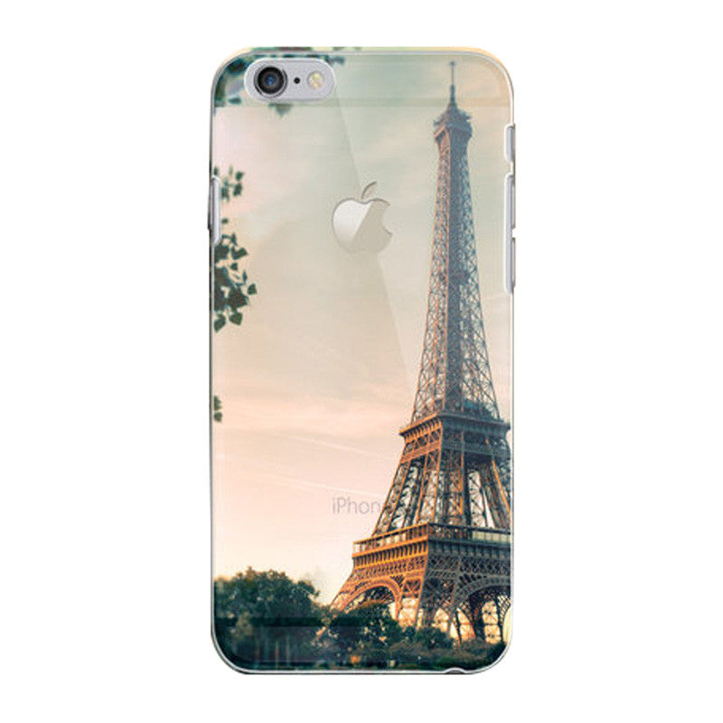 Hard Transparent Case 4.7 inch for iPhone 6/6S (Eiffel Tower)