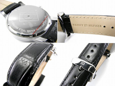Tommy Hilfiger George Embossed Crocodile Pattern 1710330 Watch (New with Tags)