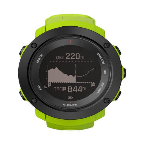 Suunto Ambit3 Vertical HR GPS Multisports Watch SS021970000 (Lime)