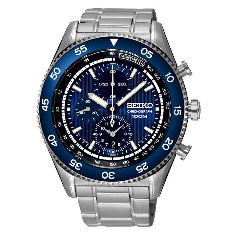 Seiko Chronograph SNDG55 Watch (New with Tags)