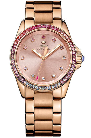 Juicy Couture Stella Stone Set 1901207 Watch (New with Tags)