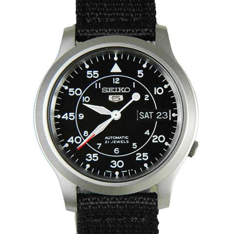 Seiko 5 Automatic SNK809K2 Watch (New with Tags)