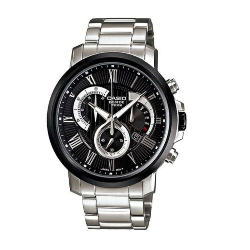 Casio Beside Chronograph BEM-506CD-1A Watch (New with Tags)