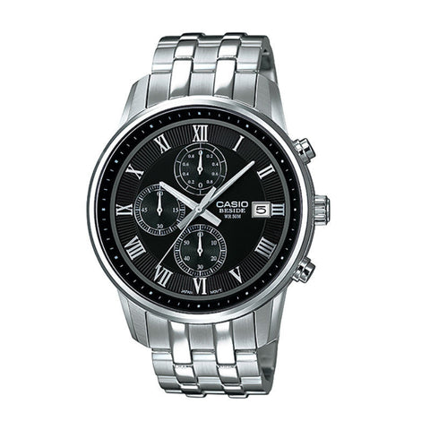 Casio Beside Chronograph BEM-511D-1A Watch (New with Tags)