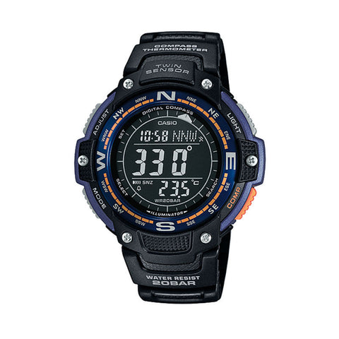 Casio Twin Sensor SGW-100-2B Watch (New with Tags)