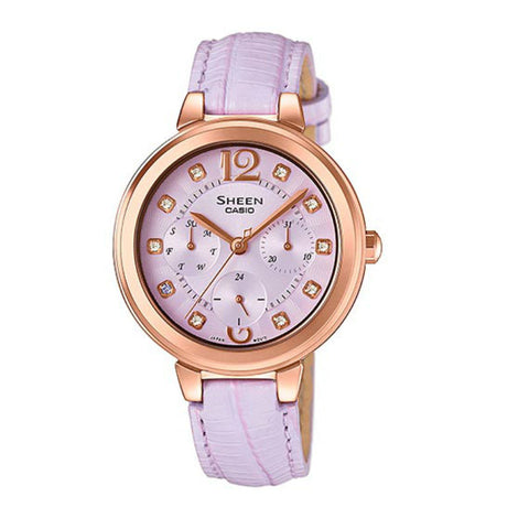 Casio Sheen SHE-3048PGL-6A Watch (New with Tags)