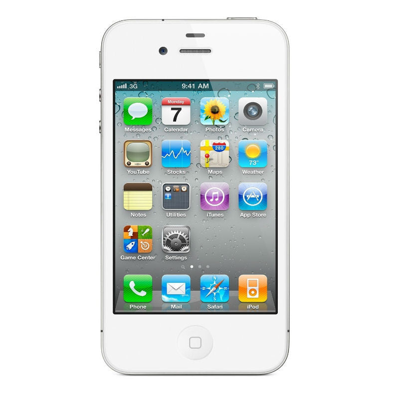 Apple iPhone 5 16GB 4G LTE White Unlocked (Refurbished - Grade A)