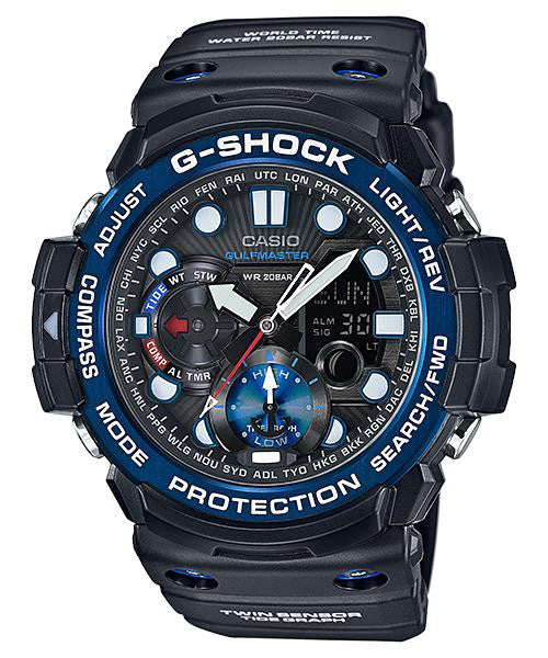Casio G-Shock GulfMaster Compass Thermometer GN-1000B-1A  Watch (New with Tags)
