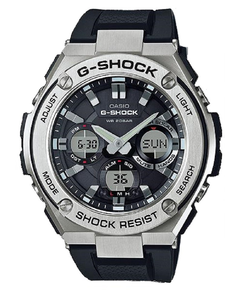 Casio G-Shock G-Steel GST-S110-1A Watch (New with Tags)
