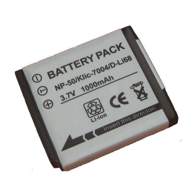 Generic D-LI68 Battery for Pentax
