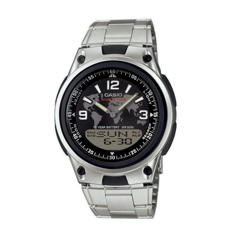Casio Sports Analog-Digital AW-80D-1A2 Watch (New with Tags)