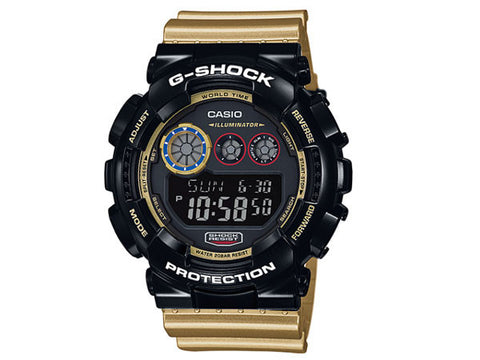 Casio G-Shock 200M Super Illuminator Flash Alert GD-120CS-1 Watch (New with Tags)