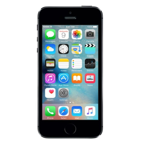 Apple iPhone 5S 16GB 4G LTE Space Gray Unlocked (Refurbished - Grade A)