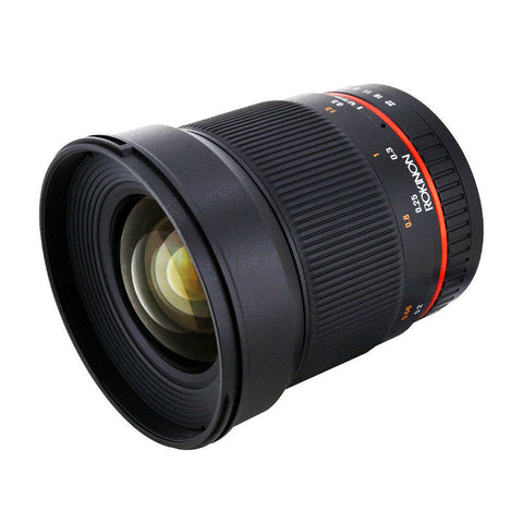 Samyang 16mm f/2.0 ED AS UMC CS Lens for Sony E Mount