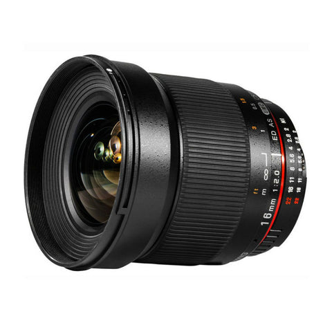 Samyang 16mm f/2.0 ED AS UMC CS Lens for Micro Four Thirds Mount